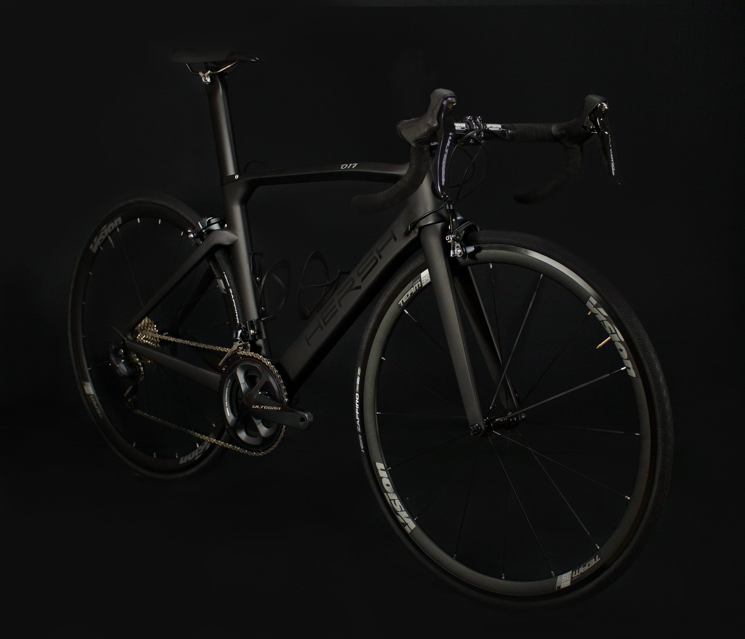 R911 Black Ultegra Hersh carbon T800