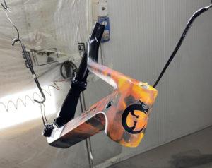 Personalizzare bicicletta MTB verniciatura