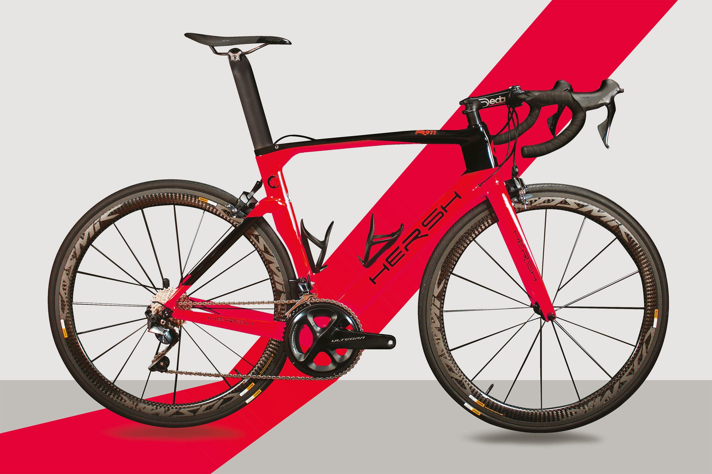 Carbon frame - road bike R911 customized