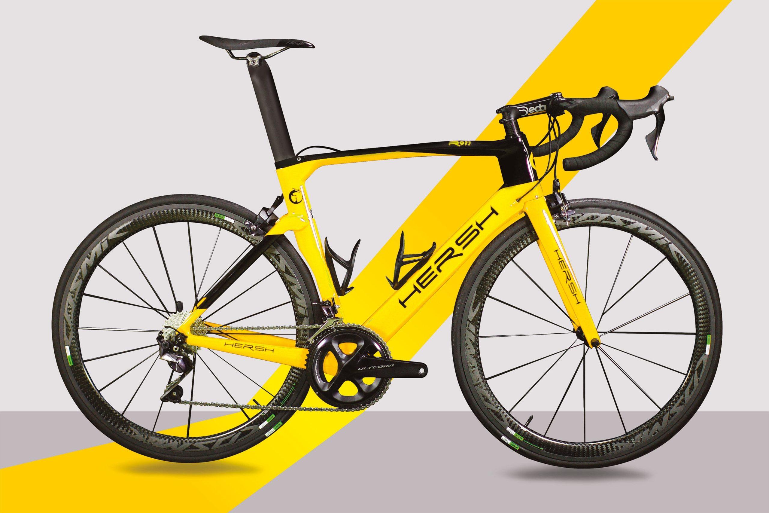 Carbon frame - road bike R911 print