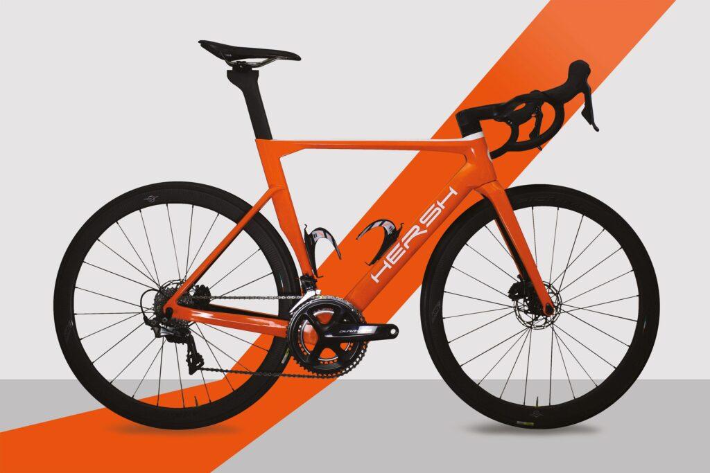 Extreme Hersh - road kit frame carbon
