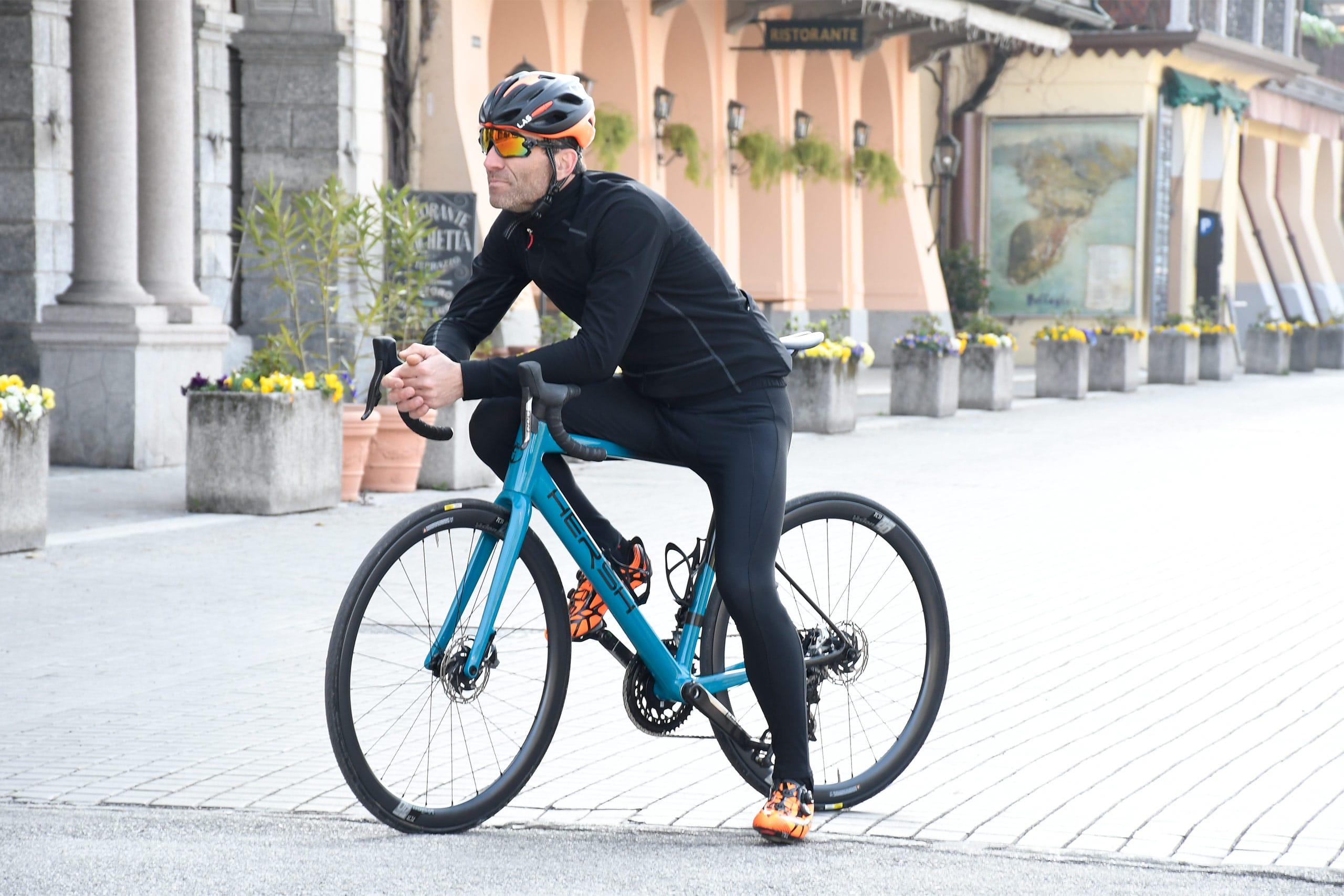 Hersh Bellagio, bici in carbonio