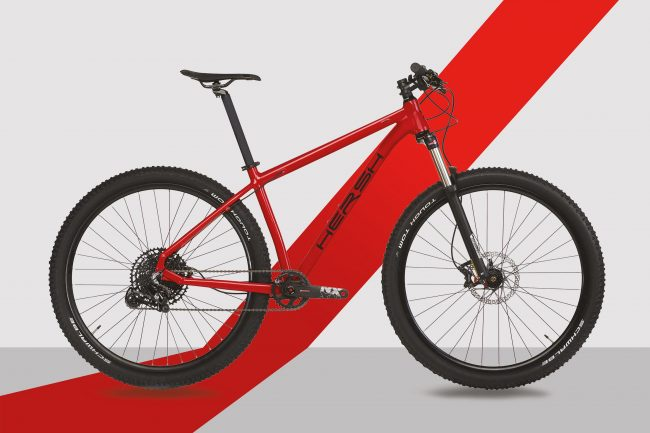 """29"""" MTB Alu red front"""