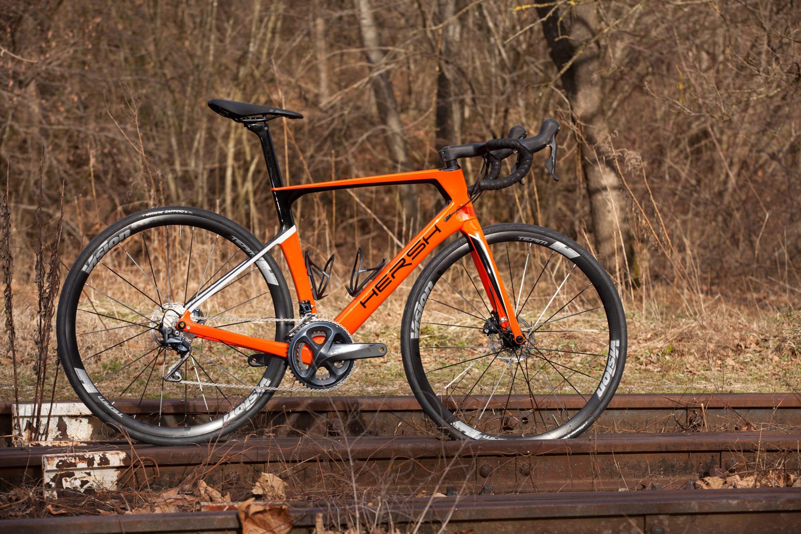 bici da corsa telaio in carbonio