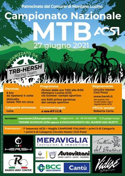 Campionato nazionale MTB - Montano Lucino (CO)